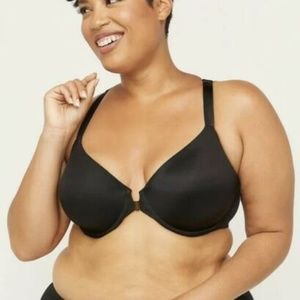 Catherines Front Close Underwire T-Shirt Bra 42DD